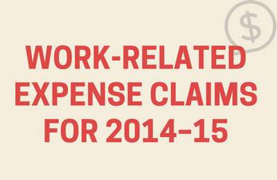 Work Related Expense Claims - infographic by TaxBanter