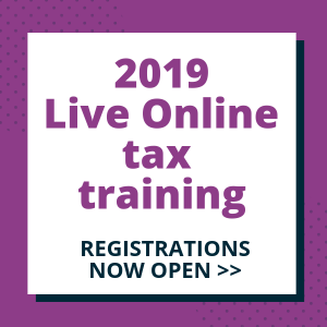 2019 Live Online Tax Training - TaxBanter