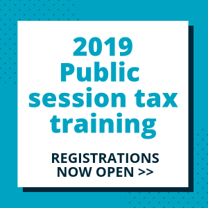 2019 Public Tax Training - TaxBanter