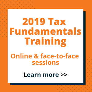 2019 Tax Fundamentals Training - TaxBanter