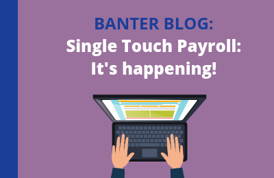 Single Touch Payroll: It's happening! (Upcoming webinar)