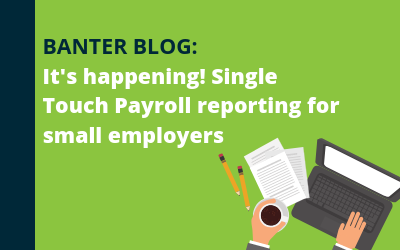 It's happening! Single Touch Payroll reporting for small employers
