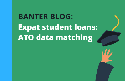Expats with student loans — ATO data matching