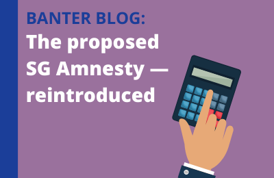 The proposed Superannuation Guarantee Amnesty — reintroduced