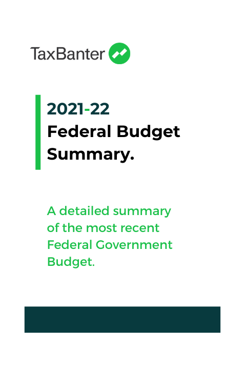 TaxBanter Federal Budget Summary eBook